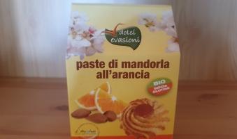 prodotto l'arcolaio-Paste di mandorle all'arancia 160g