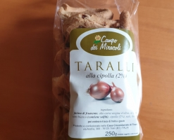 campo dei miracoli- taralli alla cipolla 250g