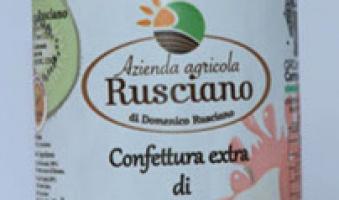 Azienda Agricola Rusciano – Confettura extra di kiwi 320 gr