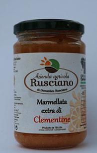 Azienda Agricola Rusciano – Confettura extra di clementine 320 gr