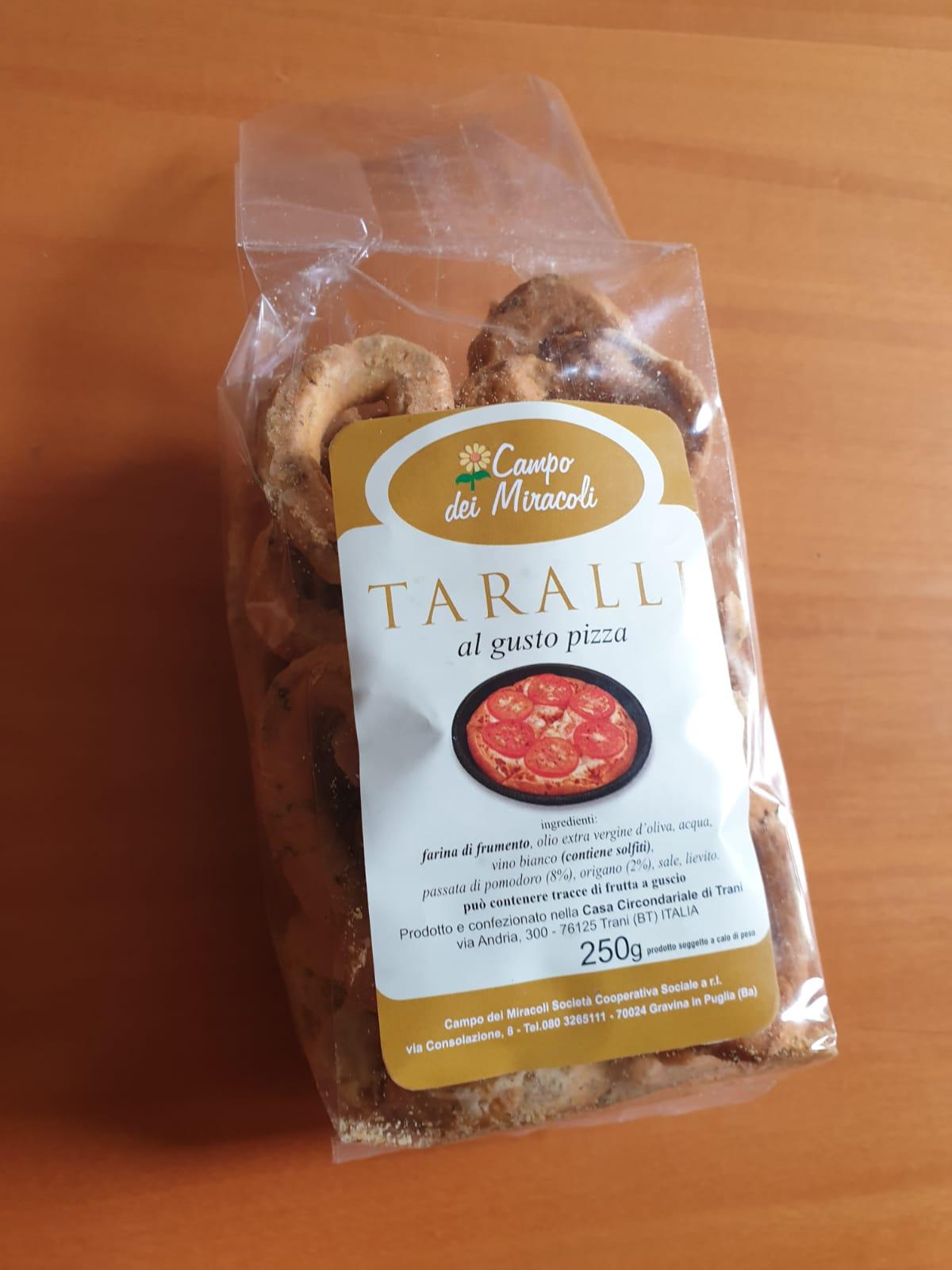 campo dei miracoli- taralli alla pizza 250g
